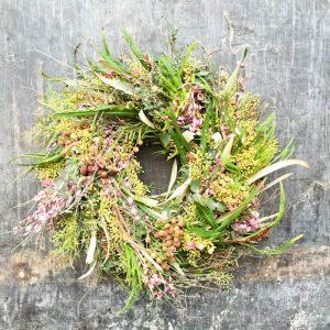 Kvetinová škola - Pestrofarebný veniec